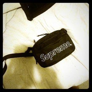 Black Supreme bag